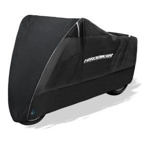 HEROBIKER Bike Motorcycle Cover Reflective Waterproof Dustproof UV Sun Snow Protective Outdoor Indoor Moto Scooter Motorbike Rain Covers For All Season