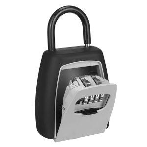 Keys Storage Box Key Storage Lock Boxes Safe Padlock Use Password Lock Alloy