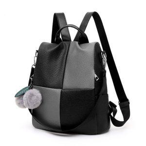Women Anti Theft Leather School Backpack Rucksack Handbag Travel Shoulder Bag