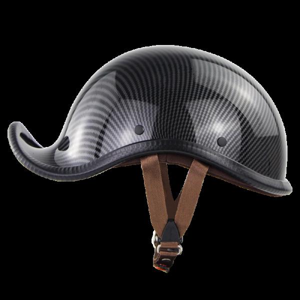 SOMAN Vintage Style Half Helmet Cocked Brim ABS Shell Casco Moto Hight Quality Capacete Unisex Cascos Retro Motorcycle Man Woman