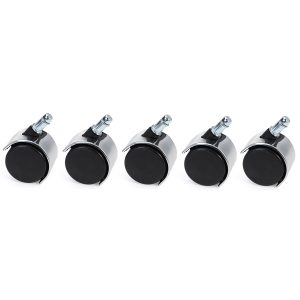 2 Inch 5pcs Heavy Duty Caster Swivel Wheels Roller Office Chair Replacement