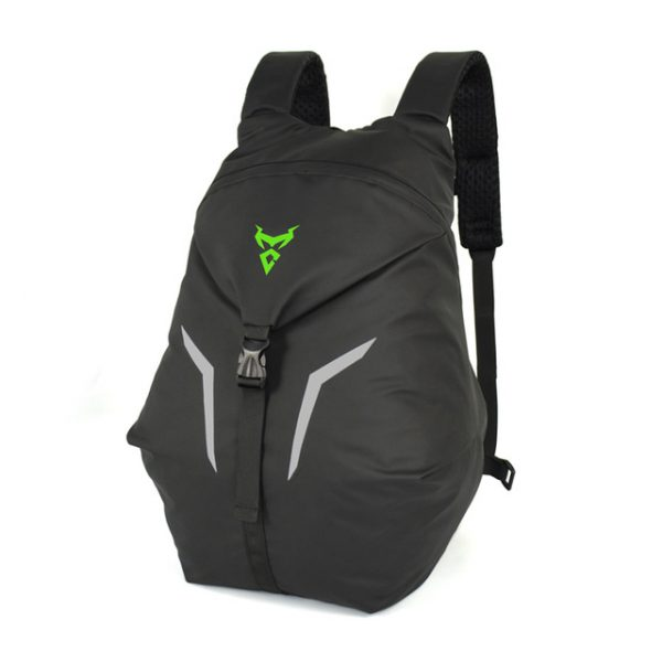 MOTOCENTRIC Outdoor Lightweight Super Light Reflect Light Sports Backpack Large Capacity Waterproof Mountaineering Climbing Motorcycle Helmet Bicycle Bike Reelable Foldable Bag