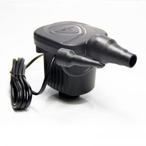 12V DC Electric Air Pump Inflator 2 Nozzles for Inflatables Mattress Raft Bed Boat Portable Car Air Pump Compressor 3600Pa