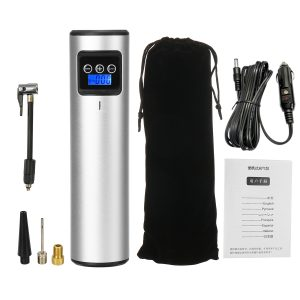 12V 150PSI 20L/min Rechargeable Portable Compressor Digital Air Pump For Car Bicycle with LED Light LCD Display