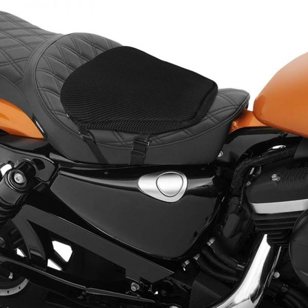 Motorcycle Car Chair Air Seat Cool Ice-cold Cushion Pain Relief Shock Absorption Multi-Cell Design Air Cushion Sports Travel Open-Mesh Side Panel Seat