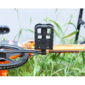 """Black 9/16 14mm Bicycle Pedals Aluminum Plastic Reflective Road Mountain Bike"""""""