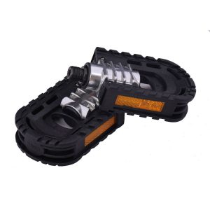 """Pair Aluminum Alloy Bicycle Foldable Pedals 9/16 14mm For Road Mountain Bike"""""""