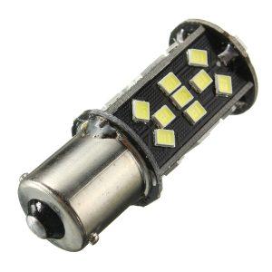 1156/1157 15W LED Car Brake Light Reversing Bulb White CANBUS ERROR FREE