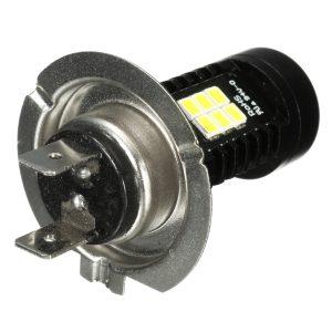 H4 H7 H11 9005 9006 H8 LED Car Fog Light Daytime Running DRL Bulb 21-SMD 12V 21W With Lens 6000K White