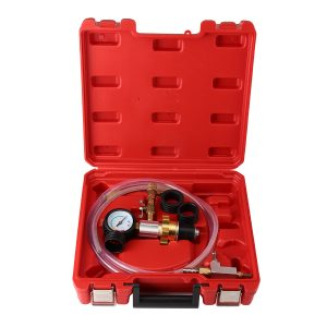 Cooling System Vacuum Radiator Kit Refill & Purge Set Universal Auto Tool
