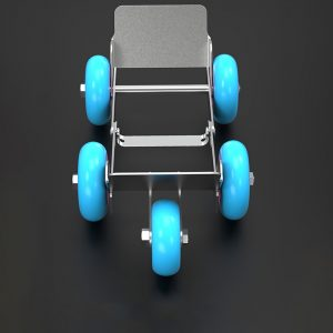 Emergency Tire Booster Trailer Heavy Duty Trolley Moving Self-rescue Foldable For Motorcycle Electric Bicycle Tricycle