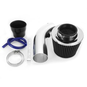 Cold Air Intake Filter Induction Pipe Clamp Power Flow Hose System Universal