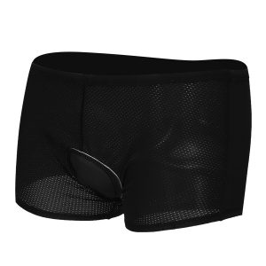 Men 3D Sponge Padded Cycling Bicycle Underwear Soft Breathable Sport Shorts
