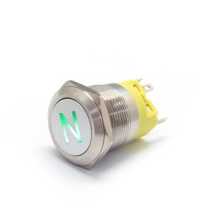 Universal 22mm LED Momentary Latching Metal Switchs Horn Push Button Car Boat