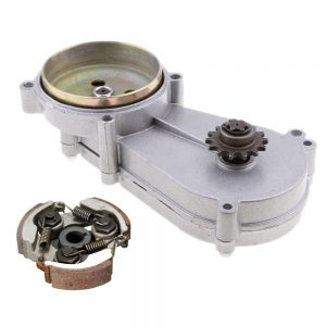 11T/ 14T / 17T / 20T Transmission Gearbox Reduction Gear Box Clutch For 47cc 49cc 2 Stroke Engine Mini Pocket Bike Scooter ATVs