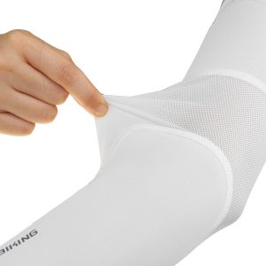 Outdoor Sunscreen Arm Sleeves Ice Silk Lycra Men Women Riding Fishing Sport Mountaineering Equipment