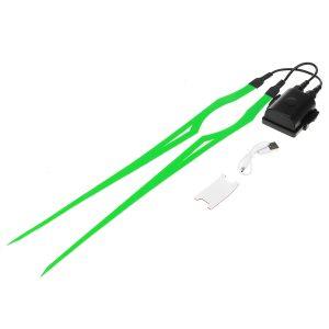 Motorcycle Helmet Flashing Light Strip USB Rechargeable Waterproof Stripe Signal Light Waterproof IP67