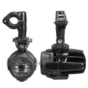 Front LED Auxiliary Fog Spot Lamp Aluminum Alloy With Light Protector Guard Cover Harness For BMW R1200GS ADV F800G