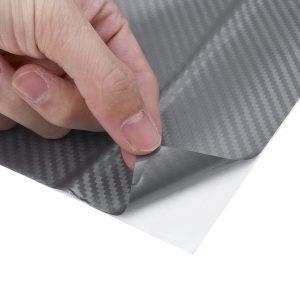 152cm x 100cm 3D Carbon Fibre Vinyl Car Vehicle Laptop Wrap Film Bubble Air Free