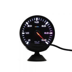 74mm Auto Gauge 7 Colors Turbo Boost/Volt/Water Temp/Oil Temp/Oil Press/RPM EGT A/F Ratio Fuel Gauge