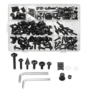 177PLUS Fairing Bumpers Panel Bolts Kit Fastener Clips Screw For Motorcycle
