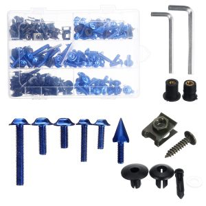 233PLUS Fairing Bumpers Panel Bolts Kit Fastener Clips Screw For Motorcycle