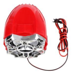 Pair Motorcycle Handlebar System bluetooth USB SD FM Radio MP3 Speakers