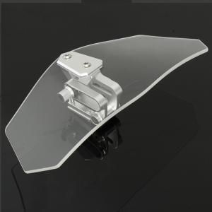 Motorcycle Universal Clear Windshield Windscreedn Screen Protector Sport Bike