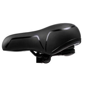 Wide Extra Big Bum MTB Bike Bicycle Comfort Sporty Soft Pad Saddle Seat