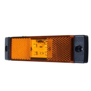 1PC 12/24V LED Side Marker Position Light For DAF XF105 Truck Lorry
