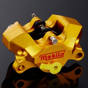 Motorcycle Rear Caliper Brake Pump With Pads Under The Double Pistion Hole Small Crabs Caliper Power Universal
