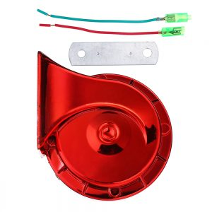 12V 115dB Snail Air Horn Siren Loud Waterproof For Truck Motorcycle Car Universal