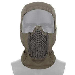 Tactical Full Face Steel Mesh Mask Hunting Airsoft Paintball Mask For CS Game