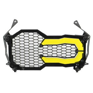 Motorcycle Headlight Protector Grille Guard Cover Acrylic For BMW R1200GS R1250GS ADV