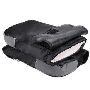 Motorcycle Handlebar Gloves Cover Winter Hand Warmers Outdoor Windproof Waterproof With Dustproof Cover