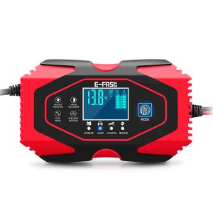 12V 24V LCD Display Battery Charger Repair Pulse Touch Screen For Car Motorcycle Lead-acid Battery Lithium Battery