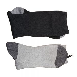 35C-55C 3.7V Rechargeable Battery Electric Heating Socks Men Women Winter Warm Heated Cotton Stockings