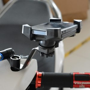 3.5-6inch Mirror 360 Degree Rotation Motorcycle Bicycle Mount Holder For GPS Mobile Phone