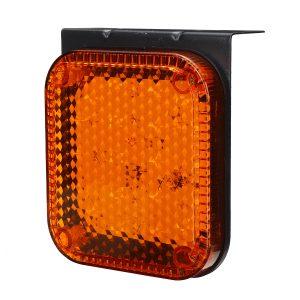 2PCS 24V 20 LED Trailer Stop Turn Tail Brake Lights Indicator For Caravan Van RV