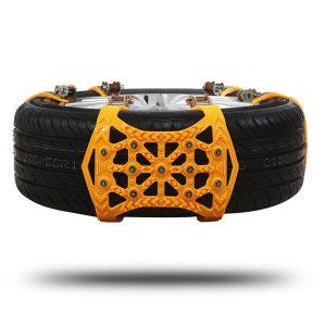Universal Tire Snow Anti-Skid Chains For Car Truck SUV ORV Emergency Winter