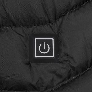 Unisex 8-Heating Electric Vest Heated Jacket USB Winter Body Warmer Windproof Coats