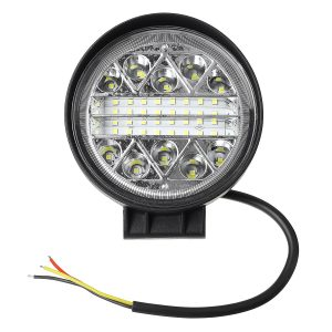 4 Inch Square/Round LED Work Light Spot Flood Driving Light Truck Off Road Tractor