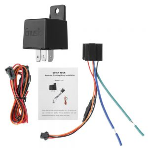 Enusic CJ730 ACC Testing Relay GPS Tracker Real Time GSM Locator Hide Anti-theft APP Cut off Fuel Power System Function Global Version