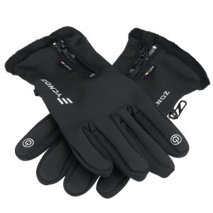 Outdoor Electric Heated Warm Gloves Control Level Battery Power Hand For Winter