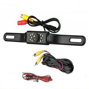 170 Car Rear View Reverse Backup Parking Camera HD Night Vision Waterproof 9LED