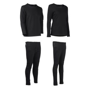 Men Women Electric Heated Underwear Suit Thermal Elastic Heating Pants Winter