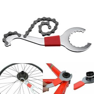 Bicycle Repair Tool Set MTB Bike Chain Cutter Chain Removel Bracket Remover Kit