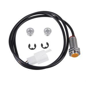 Universal Motorcycle LED LCD Speedometer Digital Sensor Odemeter Wire Harness