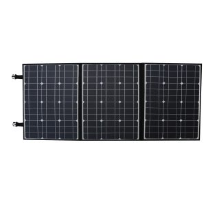 150W Solar Panel Charger Solar Battery Charger Folding Bag Monocrystalline Solar Waterproof For Camping Outdoor Car Yacht