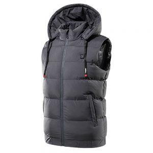 9 Zone Electric Heated Vest Hooded USB Heating Winter Warmer Jacket Coats Clothing Intelligent Constant Temperature M-7XL